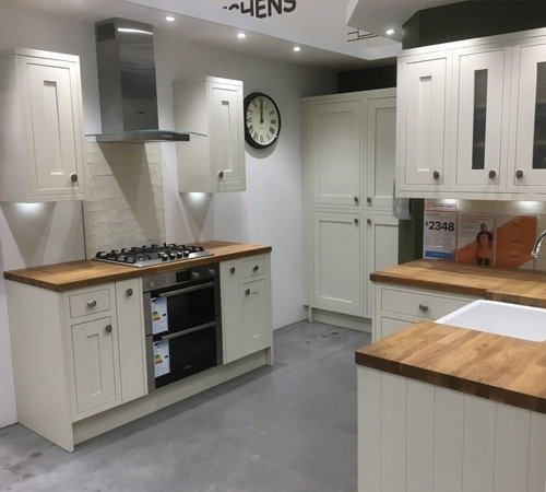 B Q New Kitchen Plinth Ultimate Contractors